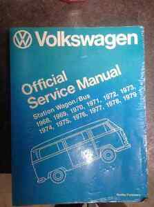 service manual Bentley volkwagen bus westfalia type 2