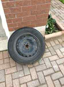 4 Winter tires and rims for sale!! Size 205/55R16
