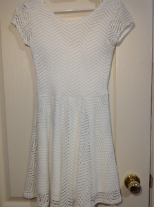 Aeropostale white dress xs