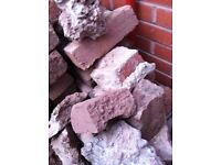 Bricks and hard core