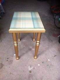 Vintage real wood table