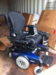 Pronto M51 with SureStep motorized wheelchair
