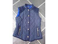 J Jeans Blue Gilet/Bodywarmer Age 12 years