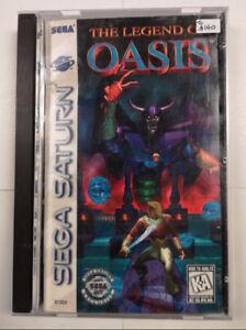 Sega Saturn The Legend of Oasis 81302
