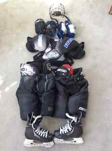 ### Reduced Novice/Atom Hockey Equipment ###