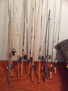 Large Group Fishing Rods