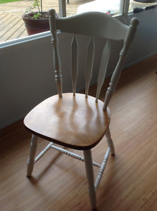 Four Kitchen chairs and table