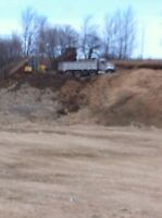 Fill site gravel pit