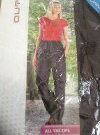 NEW ladies water proof trousers