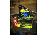 Ryobi 1.75 hp petrol chainsaw