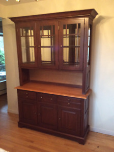 Solid wood, Hutch and Buffet