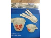 NEW ceramic measuring spoons