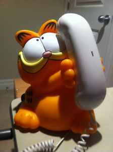 Vintage GARFIELD Talking TELEPHONE (1992)