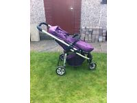 Icandy cherry pushchair and carrycot £75 ono.