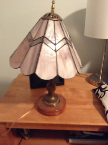 Stained glass table lamp for sale