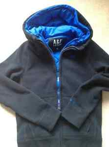 Abercrombie and Fitch lined hoodie Kitchener / Waterloo Kitchener Area image 1