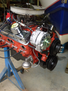 Chevy 383 Hot Rod Engine