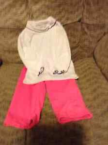 SIZE 6 -12 mth Pink Pant & 6 - 9 mth Top
