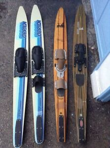4 Vintage Water Skis For Only $125!