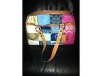 £50 Authentic COACH laddies bag No. M0971-F14651