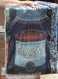 NEVER OPENED - Campbell's Soup Throw