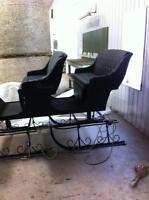 2 Seat Sleigh