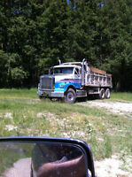 Freighltliner truck and pup for sale