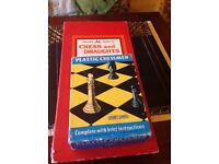 Vintage chess set & board