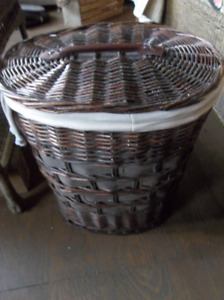 Oval hamper perfect size for one person
