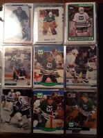 Thousands of hockey cards