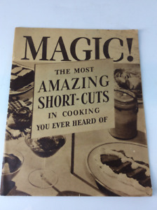 Rare Vintage Cook Books 1910's, 30's and 50's