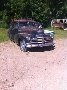1947 Chevy Stylemaster restoration project