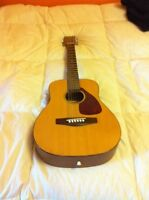 Yamaha FG junior acoustic guitar