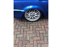 BMW 3 series msport alloy wheel single