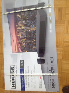 Hauss home theatre system 2000 W