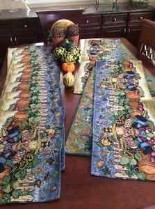 New Fall placemat sets, runners,napkins, matching napkin rings Edmonton Edmonton Area image 4