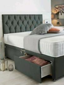 🌟SALE 50%🌟BRAND NEW DIVAN BED SET–QUALITY COMFORT PRICE GUARANTEED🌟