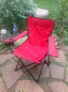 FOLDING CHAIR - LIKE NEW CONDITION -HARDLY USED