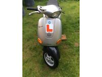 Vespa et2 one year mot only the green slip 395 ono