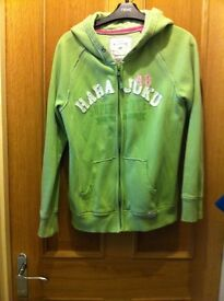 Lime green Hoody from next age 15