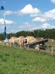 Firewood and Equipment Rentall also Engineered screw piles