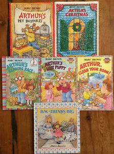 ARTHUR books by Marc Brown $2 each or all 6 for $10 London Ontario image 1