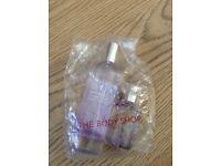 NEW body shop white musk perfume sprays