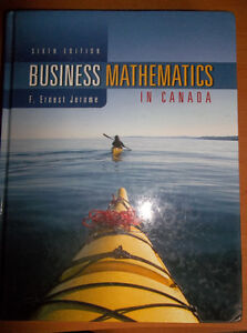 Business Math Book For Sale