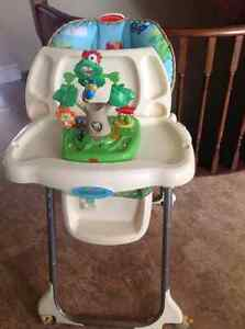 Fisher price rainforest collection highchair