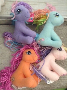 4 hasbro my little ponies