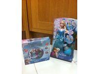 Frozen doll & puzzle