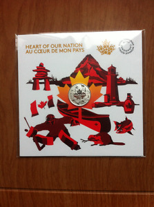 Canada 150 Silver Coins - Heart of a Nation and Spirit of Canada