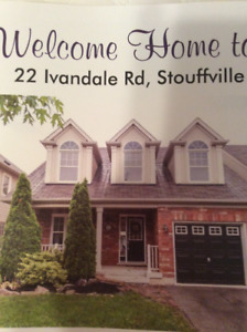 Stouffville, Renovated, 4 bedrooms, 3bathrooms, 2 Storey,