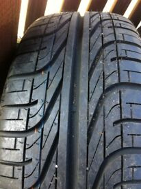 Brand new Pirelli 205/55/16 tyre on vw steel